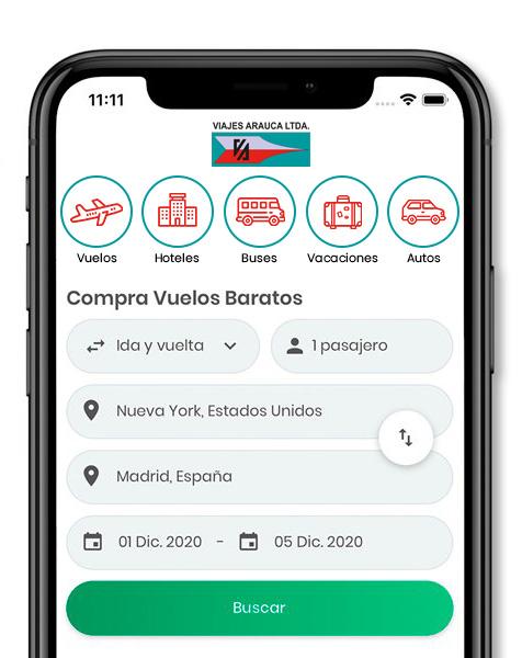 App Viajes Arauca Ltda. Organizacion Aviatur